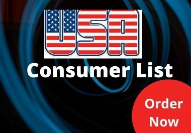 I will provide you USA based 5k consumer list