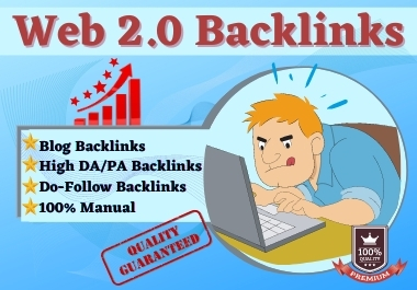 Land on GOOGLE FRONT PAGE by Web2.0 Permanent High DA/PA Dofollow Backlinks SEO