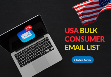 I will provide 1k USA based active consumer email list in 24 hours