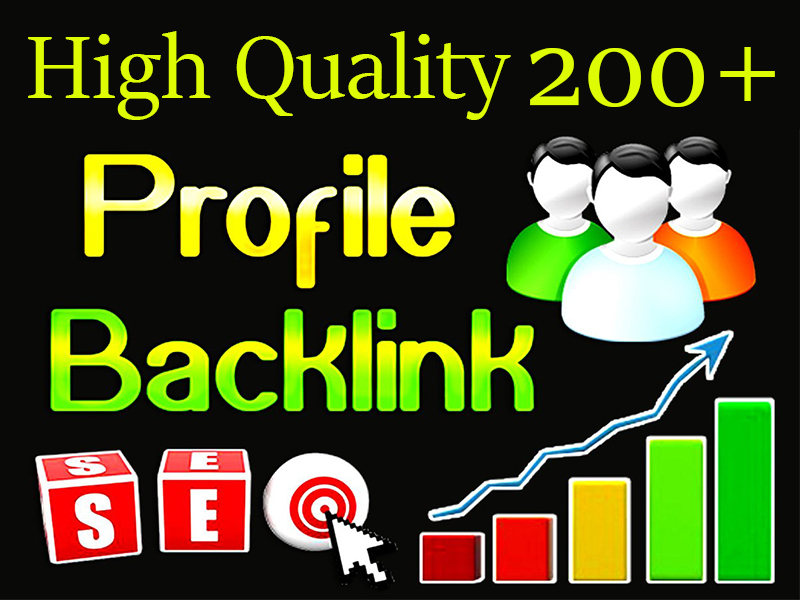 200+ Highly,  Latest & Manually Profile Backlinks To Improve Your Website
