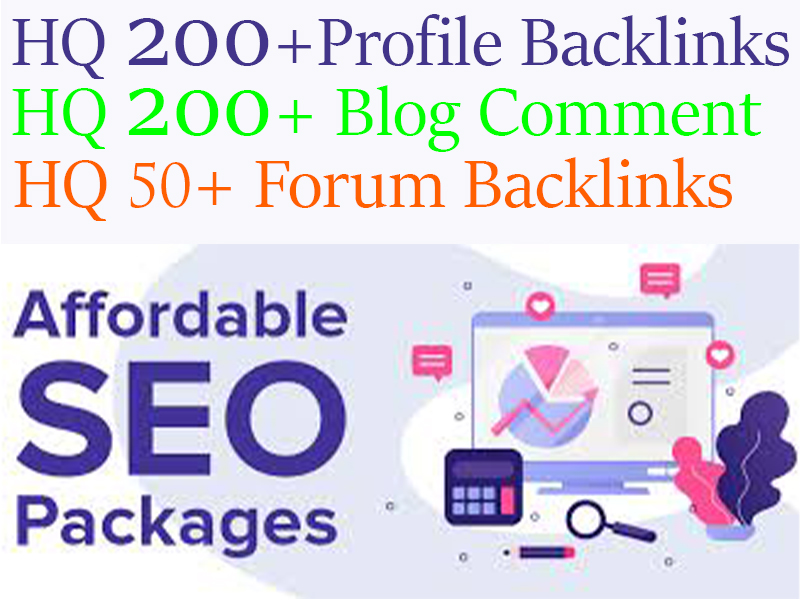 450+ High DA/PA Backlinks Package To Improve Your Website