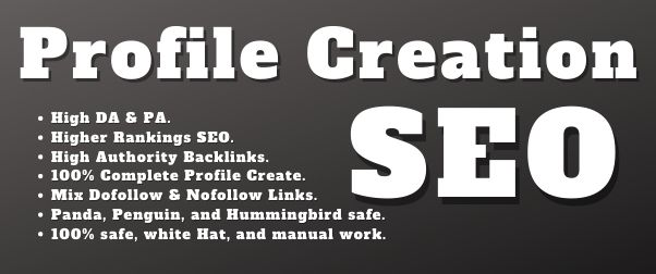 I will Build Trusted 50 High-Quality Dofollow Profile Creation Backlinks