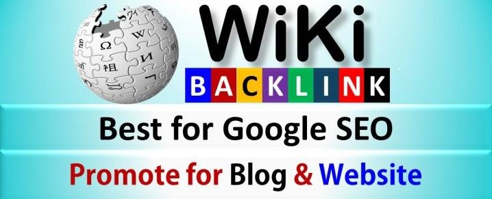 Build Unique Original Wikipedia Backlinks for your Website