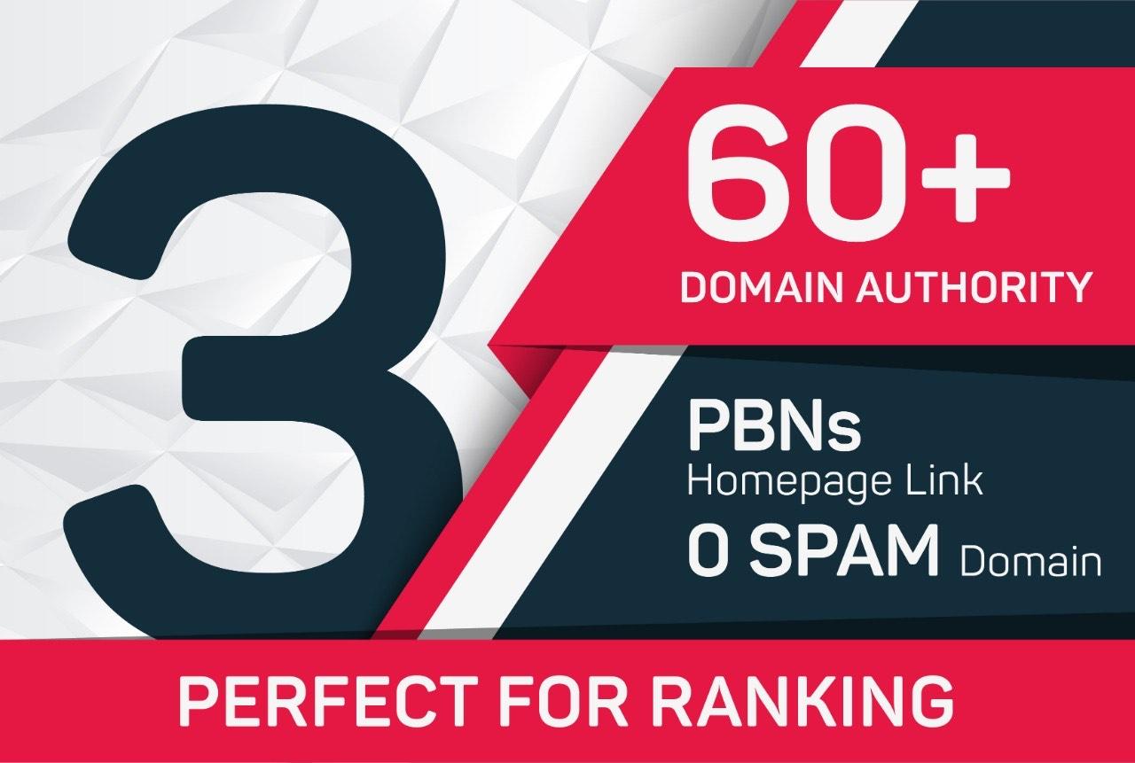 Do 3 Post on DA 60+ Website,  Homepage Contextual Backlink