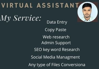 I will be your trustable virtual assistant