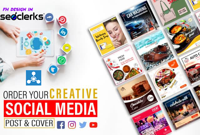 I will design high quality social media cover and website banner