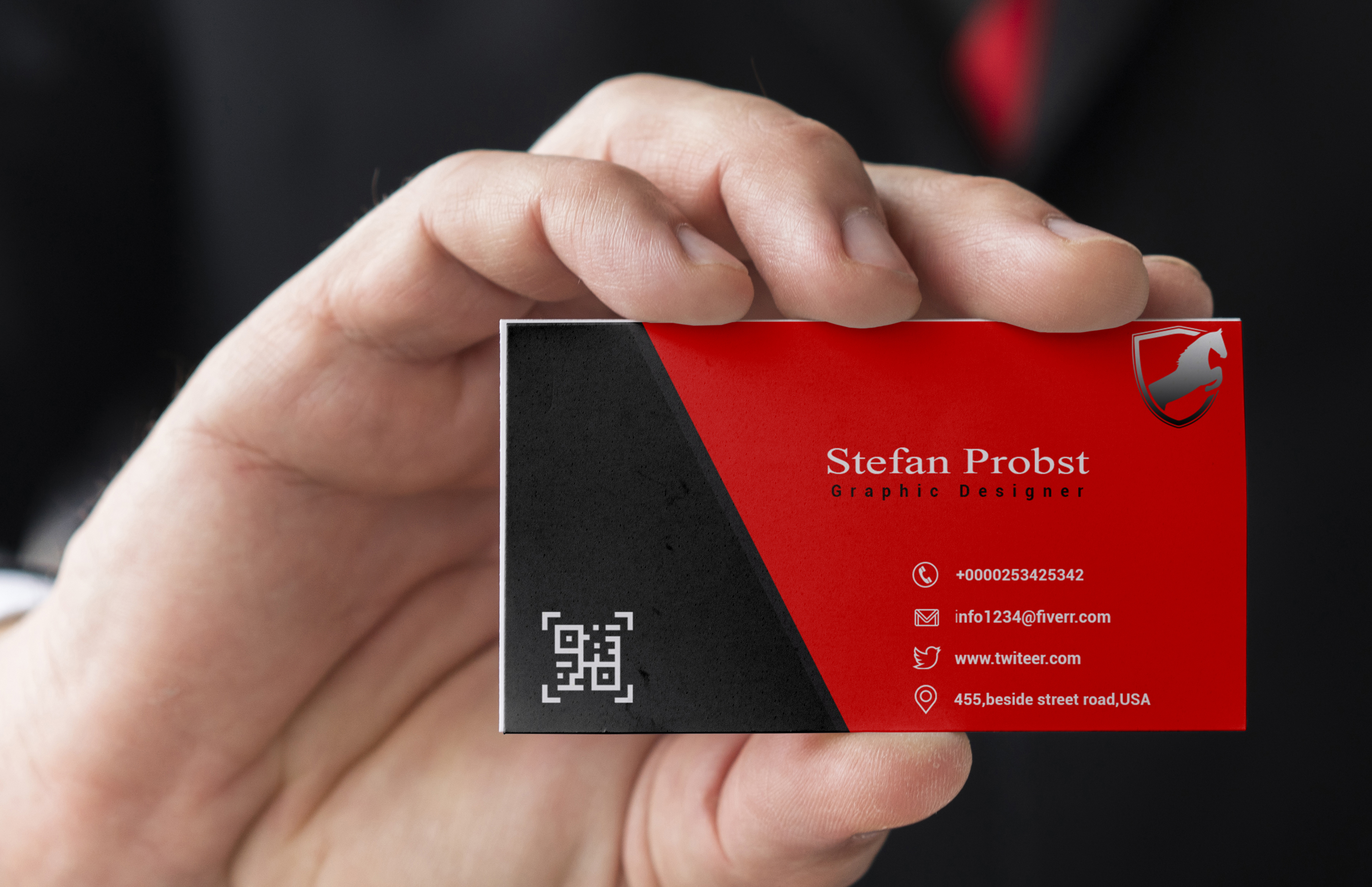 I will design you professional and outstanding business card.