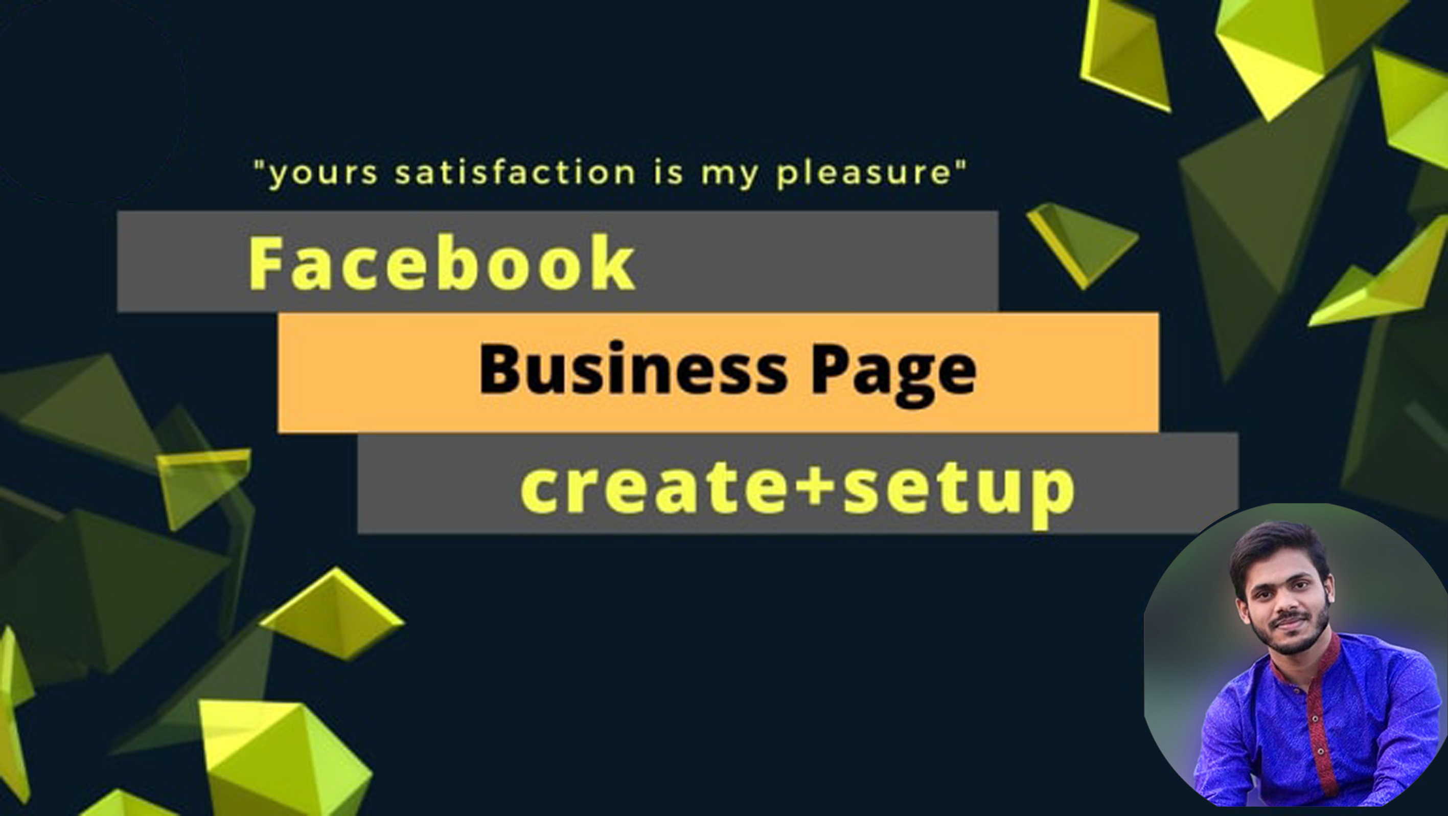 I will create setup and optimize your Facebook business page