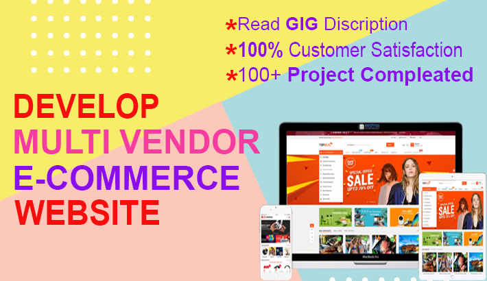I will develop wordpress woocommerce multi vendor marketplace