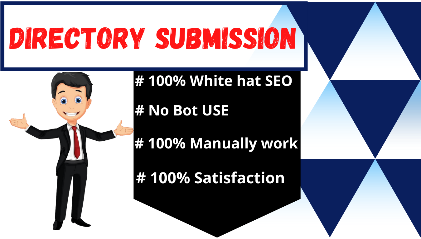 I will do 100 directory submission site manually