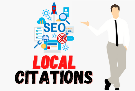 I will do top google map citation or local seo for your company