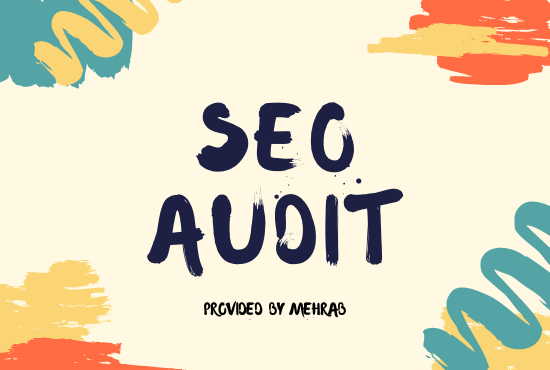 I will do technical seo audit for web site