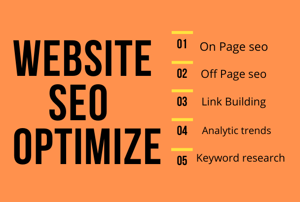Optimize your website with SEO