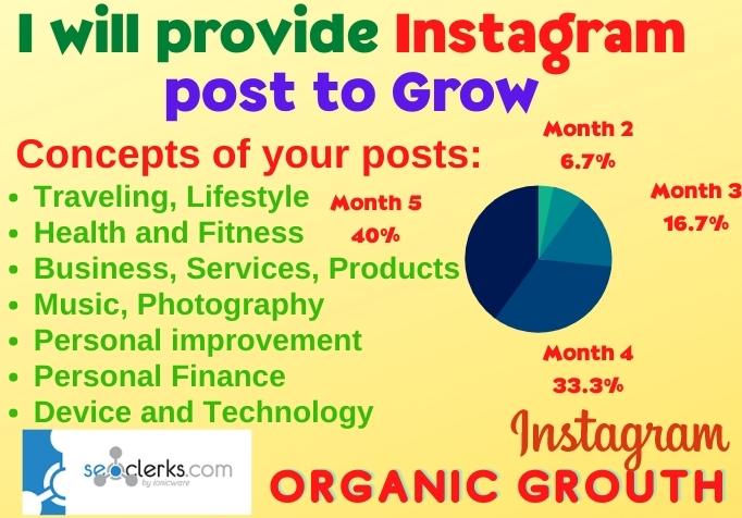 I will create and Develop Your Instagram Post Vary Attractively