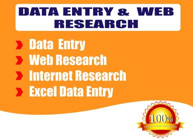 I will do data gathering,  web research,  web analysis and data extraction