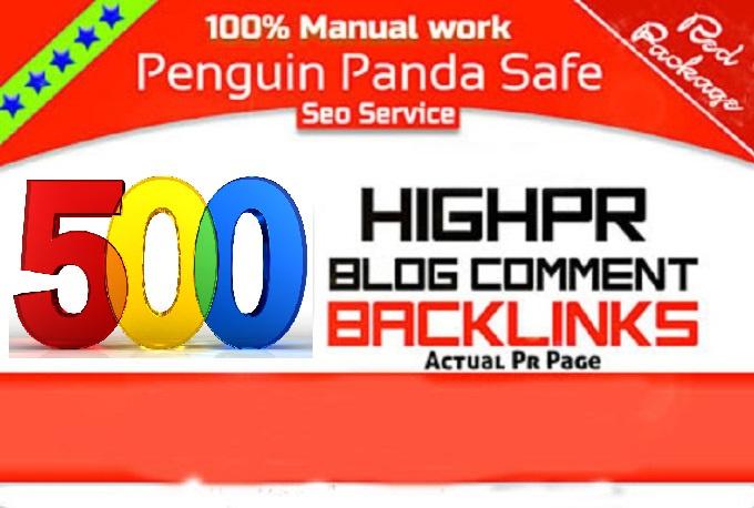 Add You HQ PR 500 Blog Backlink