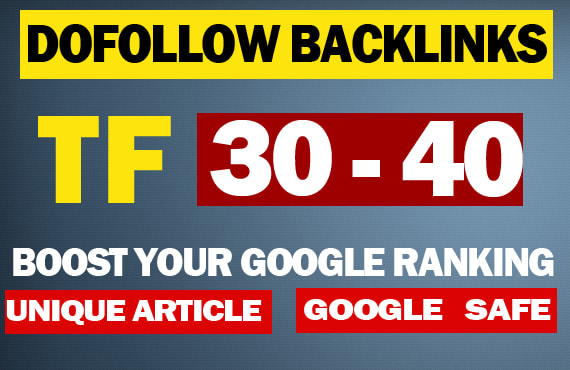 create tf backlinks for strong offpage seo