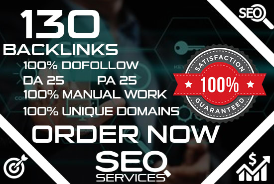 submit 130 high authority dofollow backlinks