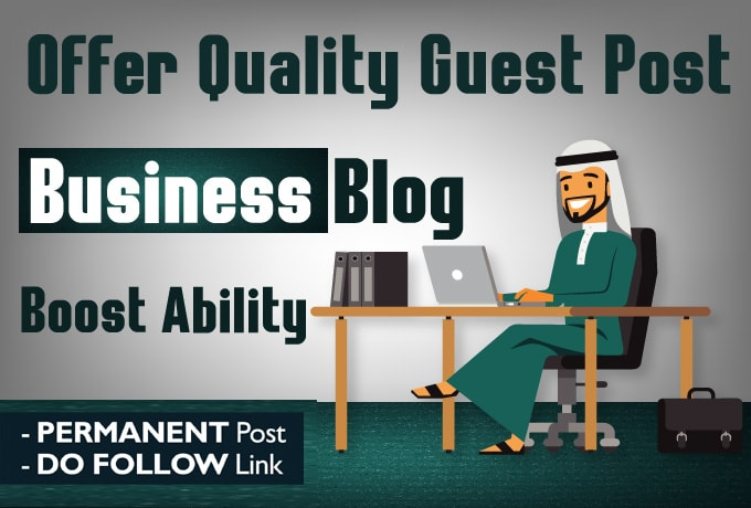 I will publish Guest Post Your content On DA 54 business blog