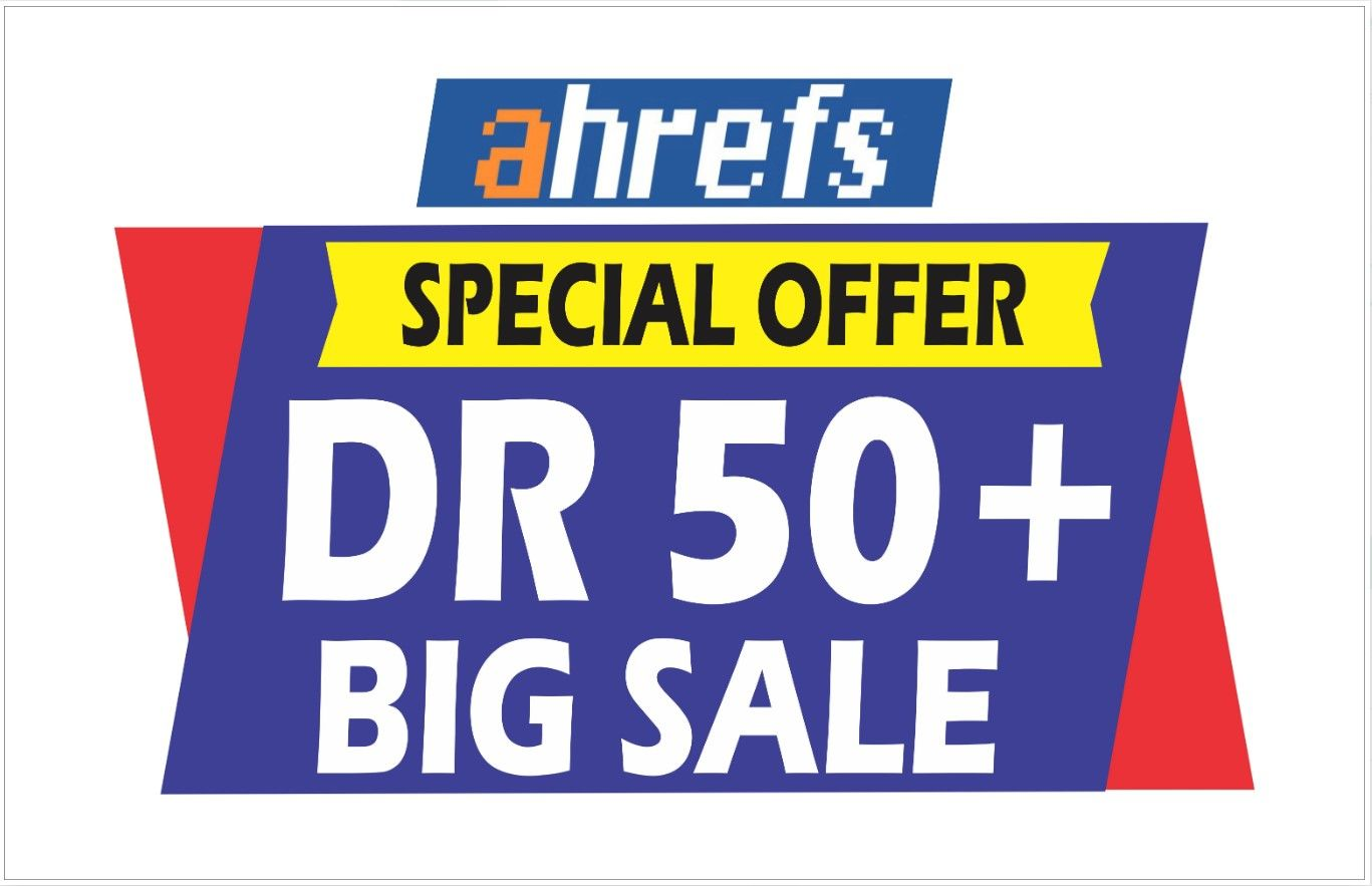 I will increase domain rating DR on ahrefs 0 to 50 plus