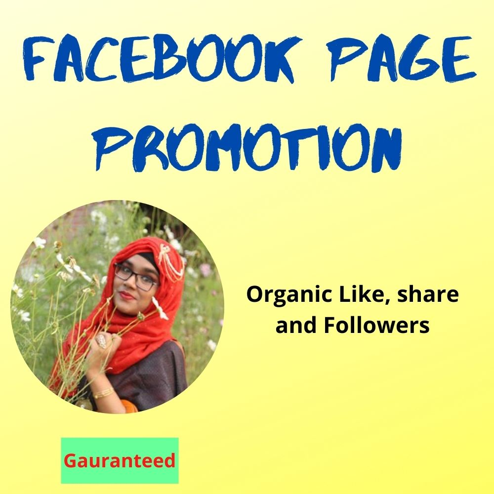 I will promote and advertise your Facebook page