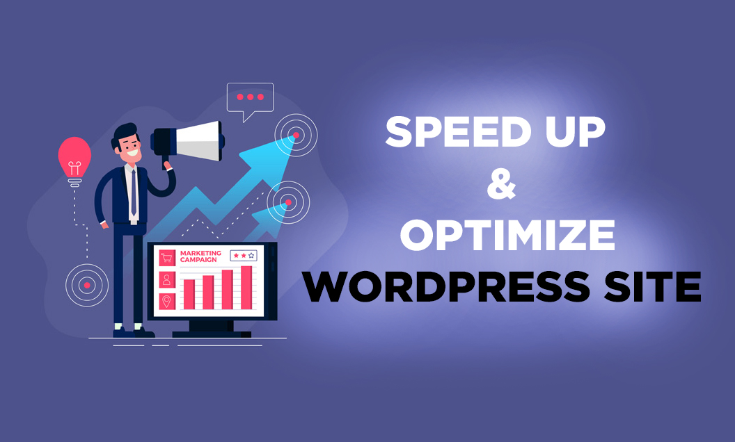 Speed up and optimize your WORDPRESS website & make it crazy faster
