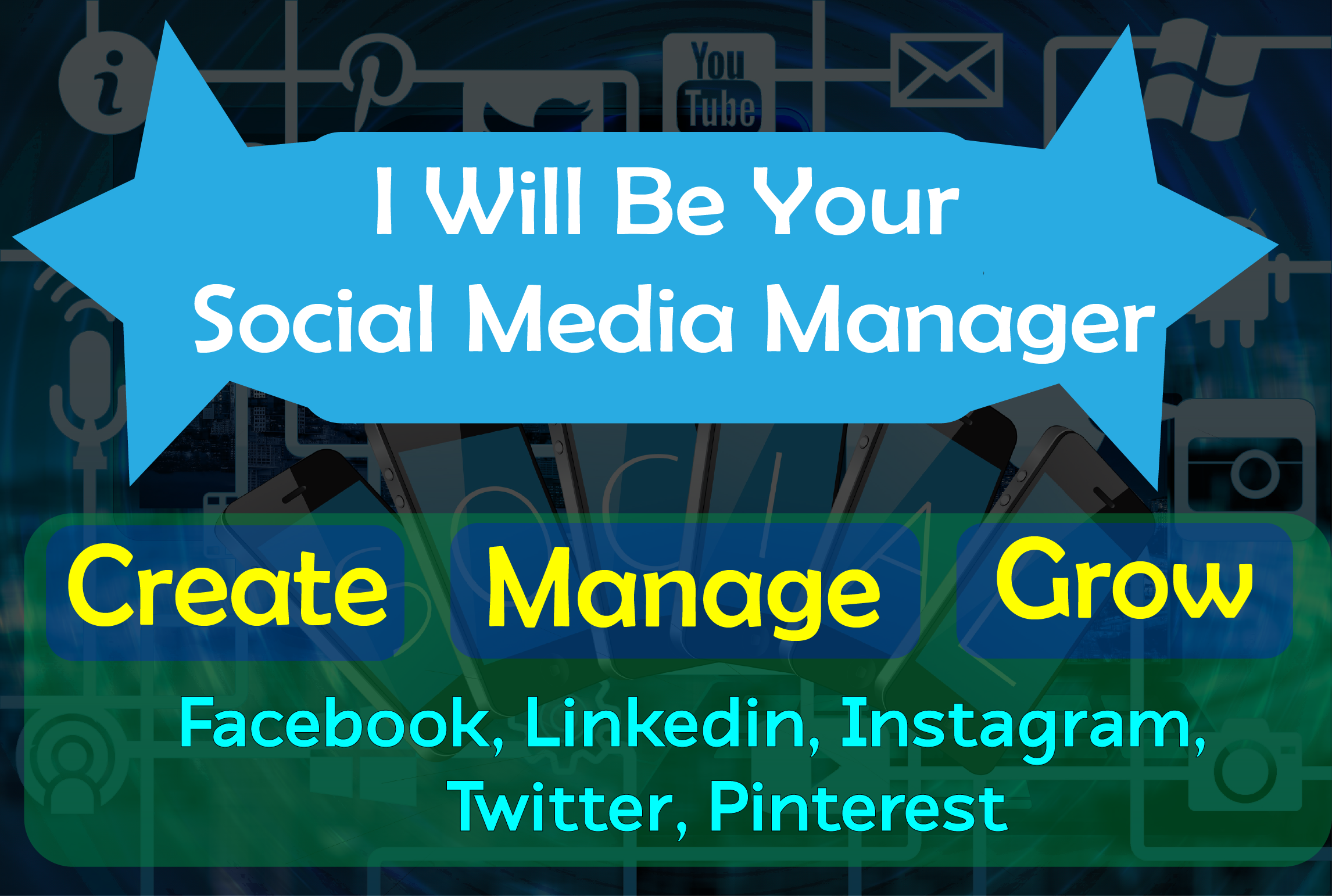 I Wanna Be your Social Media Manger