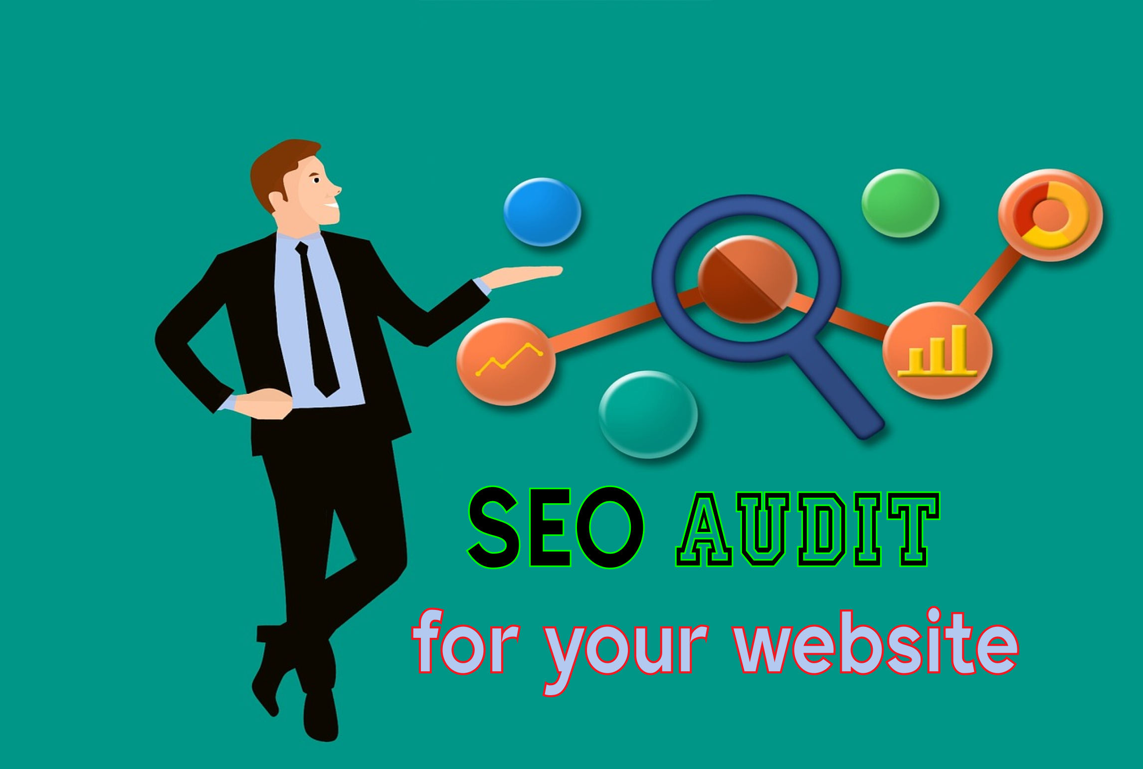 I provide a full SEO audit for your website