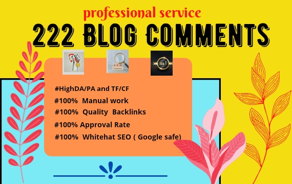 I Will Make High Authority Blog Comments With Unique Domain SEO Backlinks