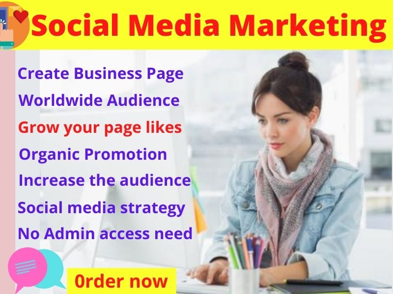 I will Promote your Instagram,  Facebook page social media to grow your business