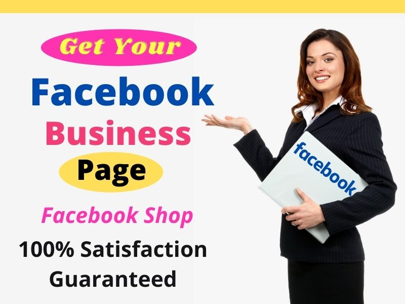I will Create and Setup an Impressive Facebook Business Page