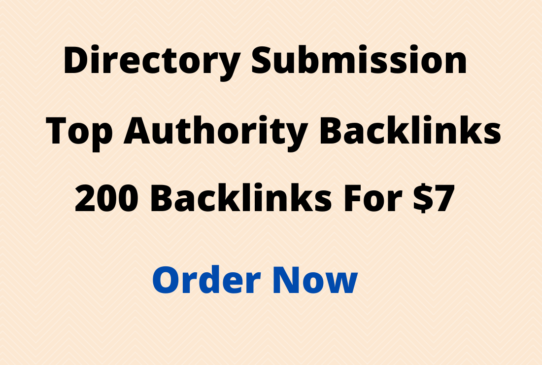 Provide 200 SEO-Friendly Directory Submission