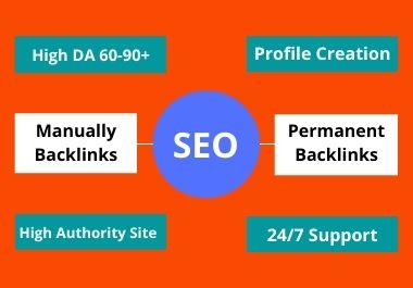 Manually Build 100 Profile Creation HQ Backlinks To BOOST WEBSITE RANKING FAST