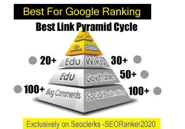 SERP on Google 1st page with my Advanced Link Pyramid 2020