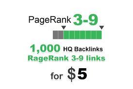 Provide 1000 PR 3-9 HQ backlinks