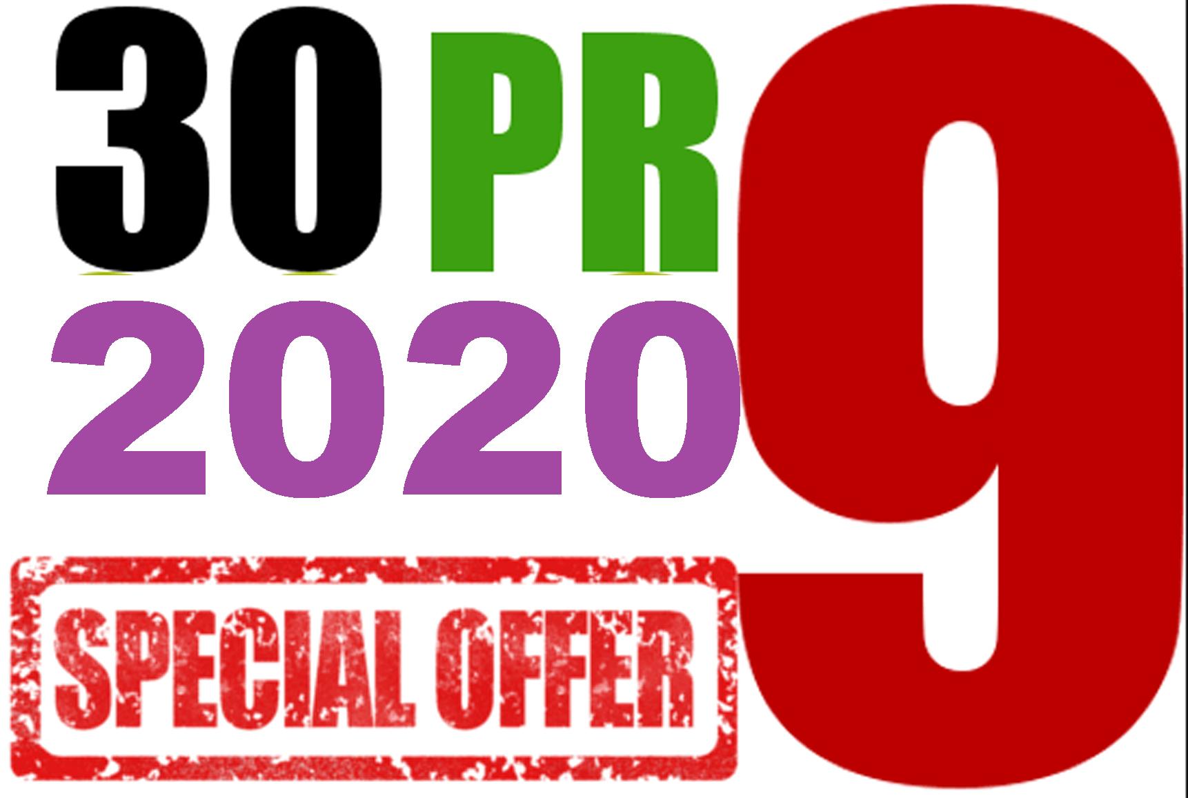 Provide Verified 30 PR9 Authority Links to Rank 1 On Google