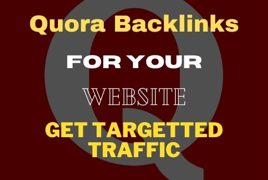 I will provide 15 HQ Quora Answer with Backlink