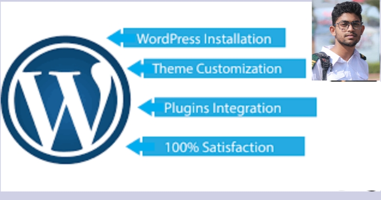 I do wordPress website installation, set up, customization and design