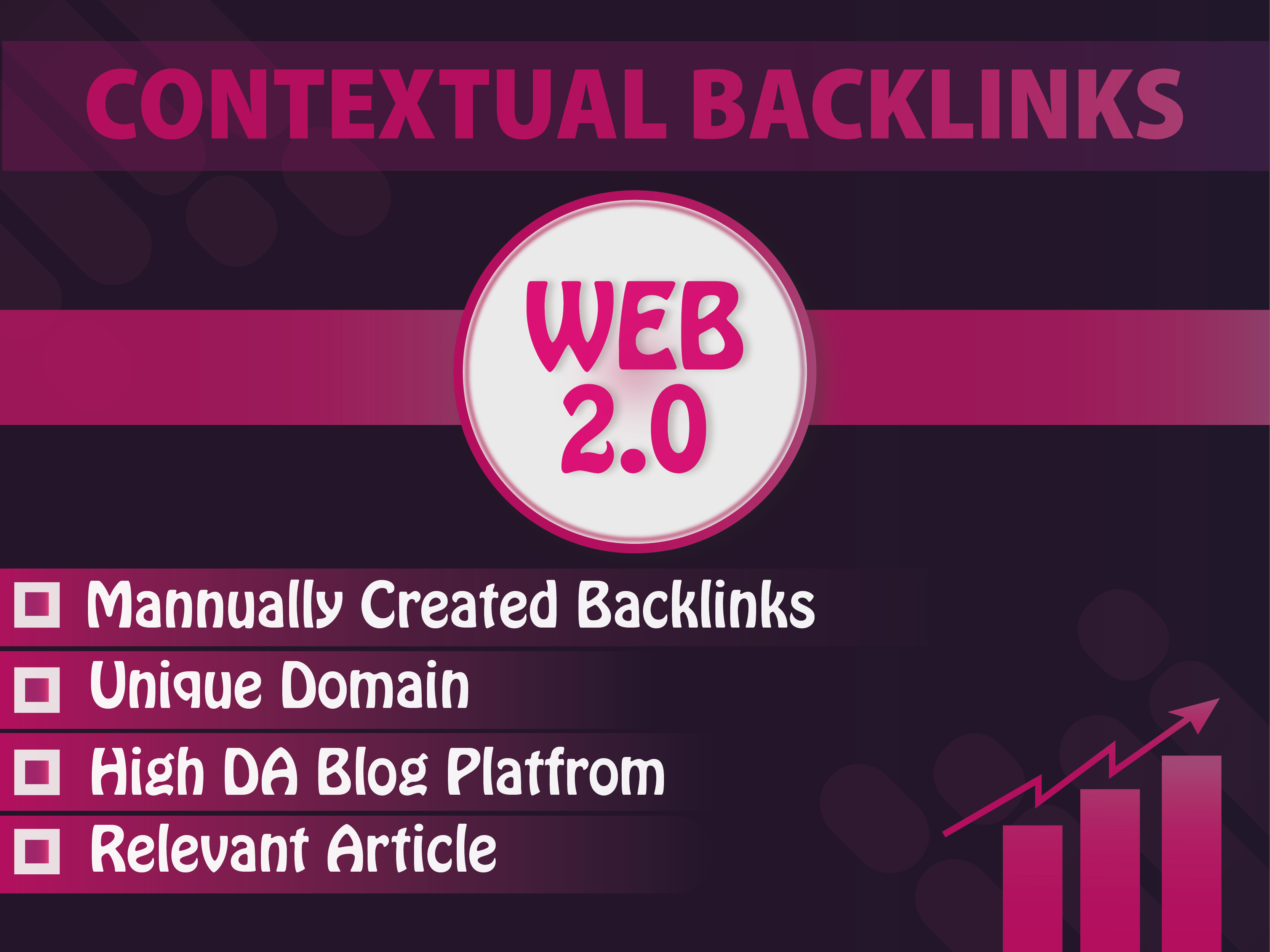 Get 20 Super quality manually High Authority Blogs web 2.0 SEO Backlinks