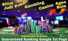 Agen Judi Bola Gambling Sites Guaranteed Google 1st Page-MAY UPDATE 2021
