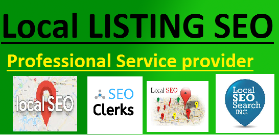 I will do provide 40 local listings seo for your local business rank and Geo tag emage