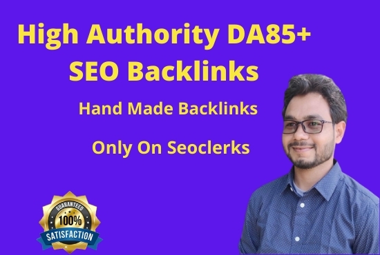 I will create hand made SEO profile backlinks for link building