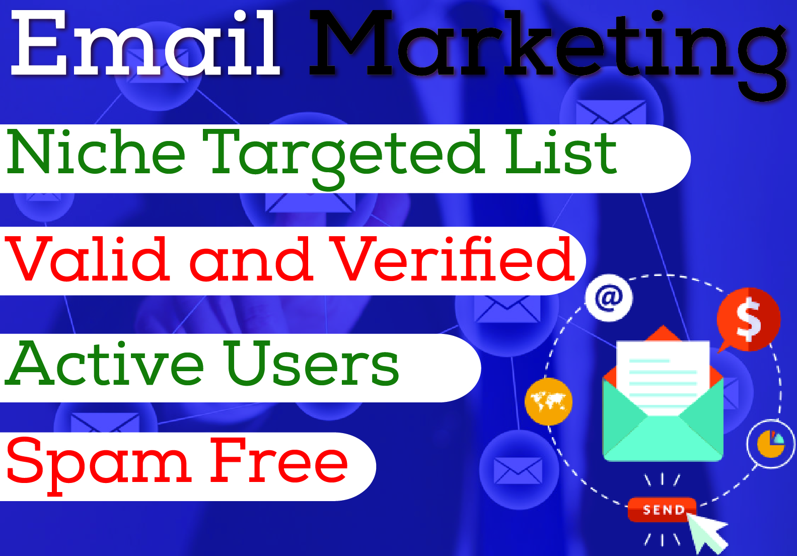 Start your Email Marketing with 2000 Niche Targeted Email list