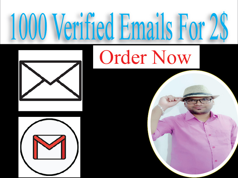 Verified,  spam-free 1000+ valid bulk consumer emails