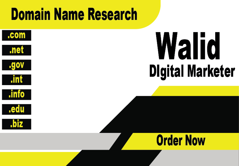 I Will Research the Best DomainName for Your Business
