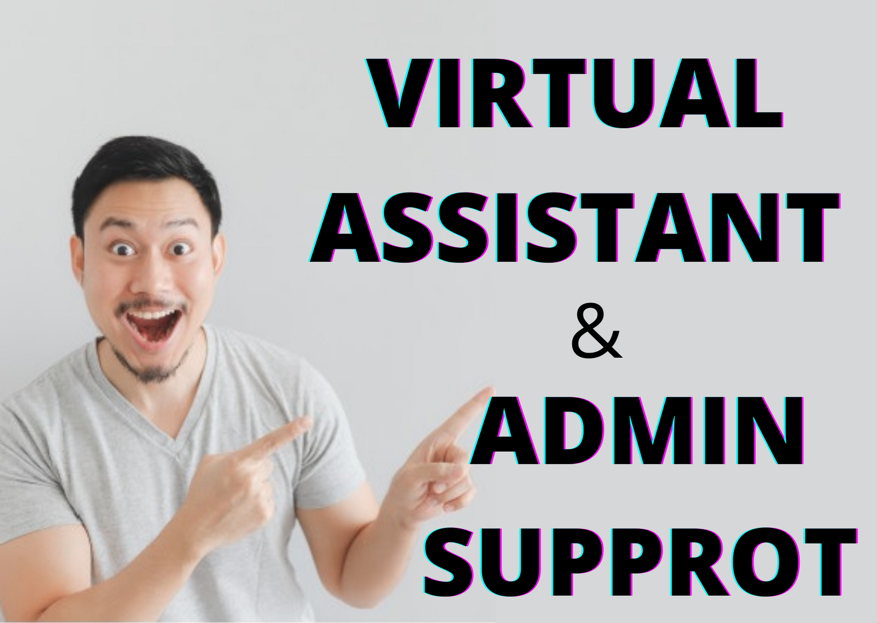 I will be your personal virtual assistant and provide you data entry services