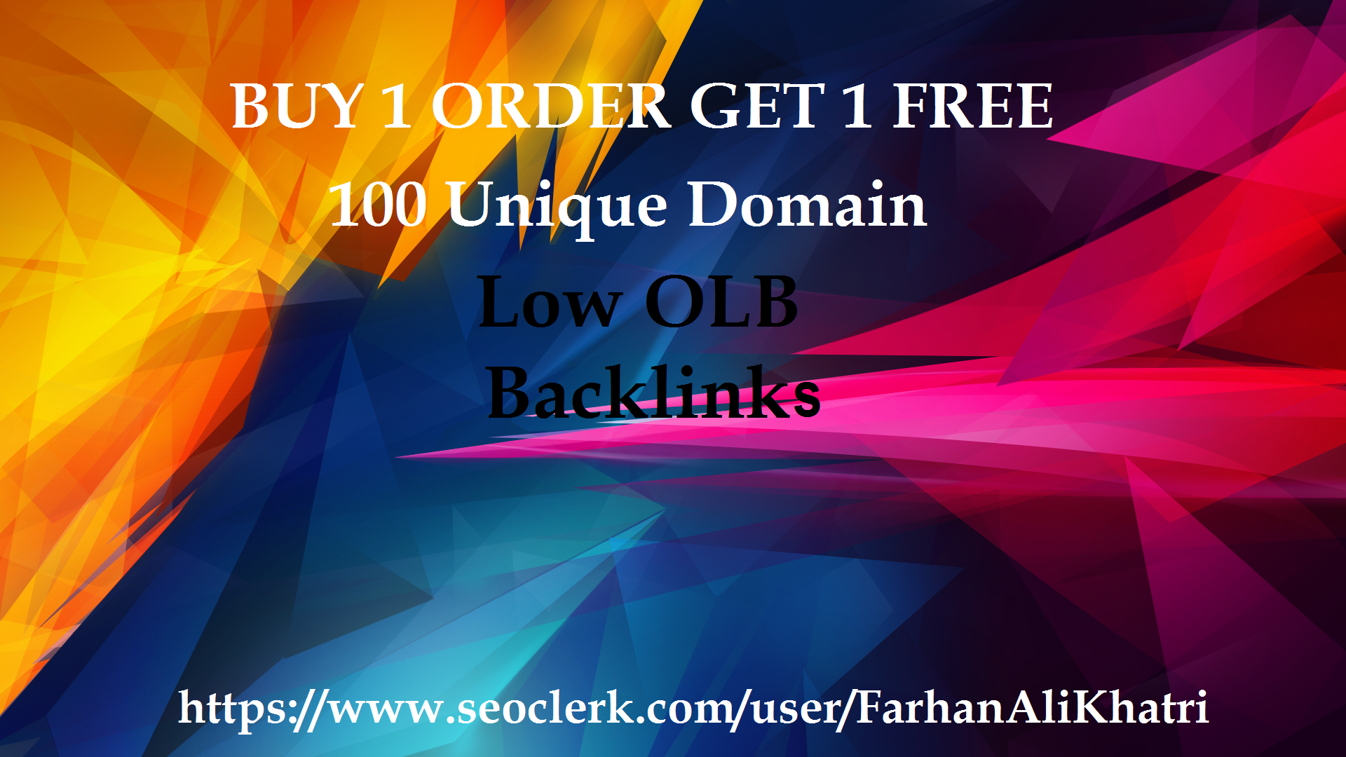 I will build 100 unique low obl blog comments with dofollow backlinks