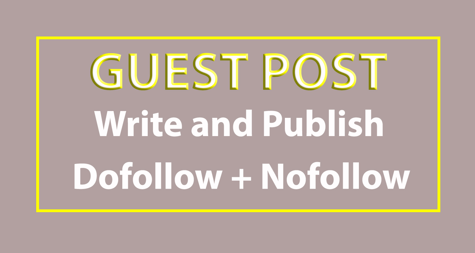 I will write and publish 40 guest post with Hight DA PA