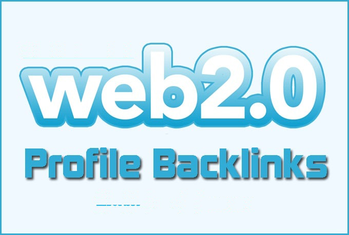 I will create over 150 web 2, 0 profile backlinks on high page rank sites