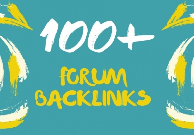 Manual Work 100+ HQ forum profiles backlinks To improve your website Google ranking